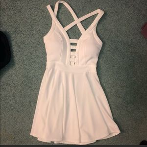 White Windsor dress medium